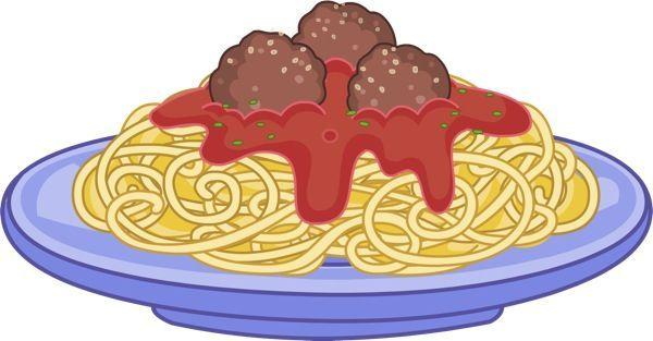 Spaghetti and meatball clipart 1 » Clipart Portal.