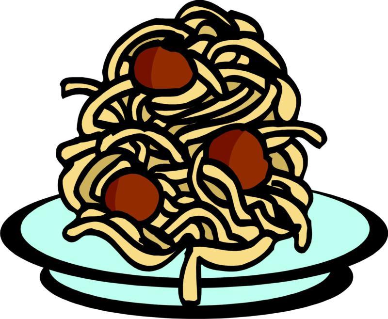 Spaghetti And Meatballs Clip Art N23 free image.