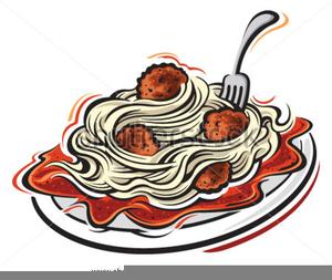 Spaghetti And Meatball Clipart Free.