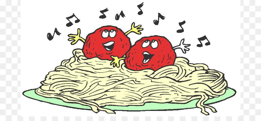 Pasta Spaghetti with meatballs Dinner Clip art.