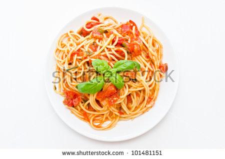 Spaghetti Plate Stock Photos, Royalty.