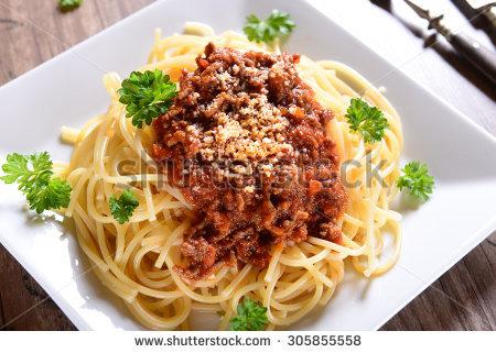 """""""pasta Bolognese"""" Stock Photos, Royalty."""