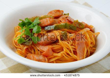 Spaghetti Napolitana Stock Photos, Royalty.