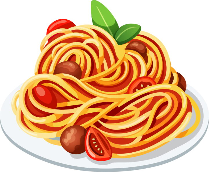 Dinner Plate Clipart Clip Art Spaghetti Image Provided.
