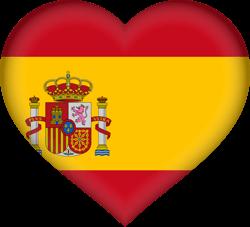 Spain flag clipart.