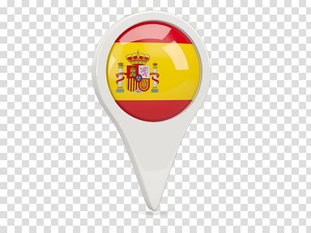 Flag of Spain location logo illustration, Flag of Spain.