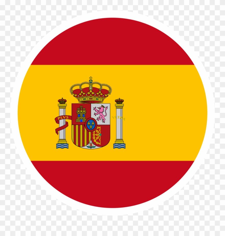 Spain Flag Football Logos.