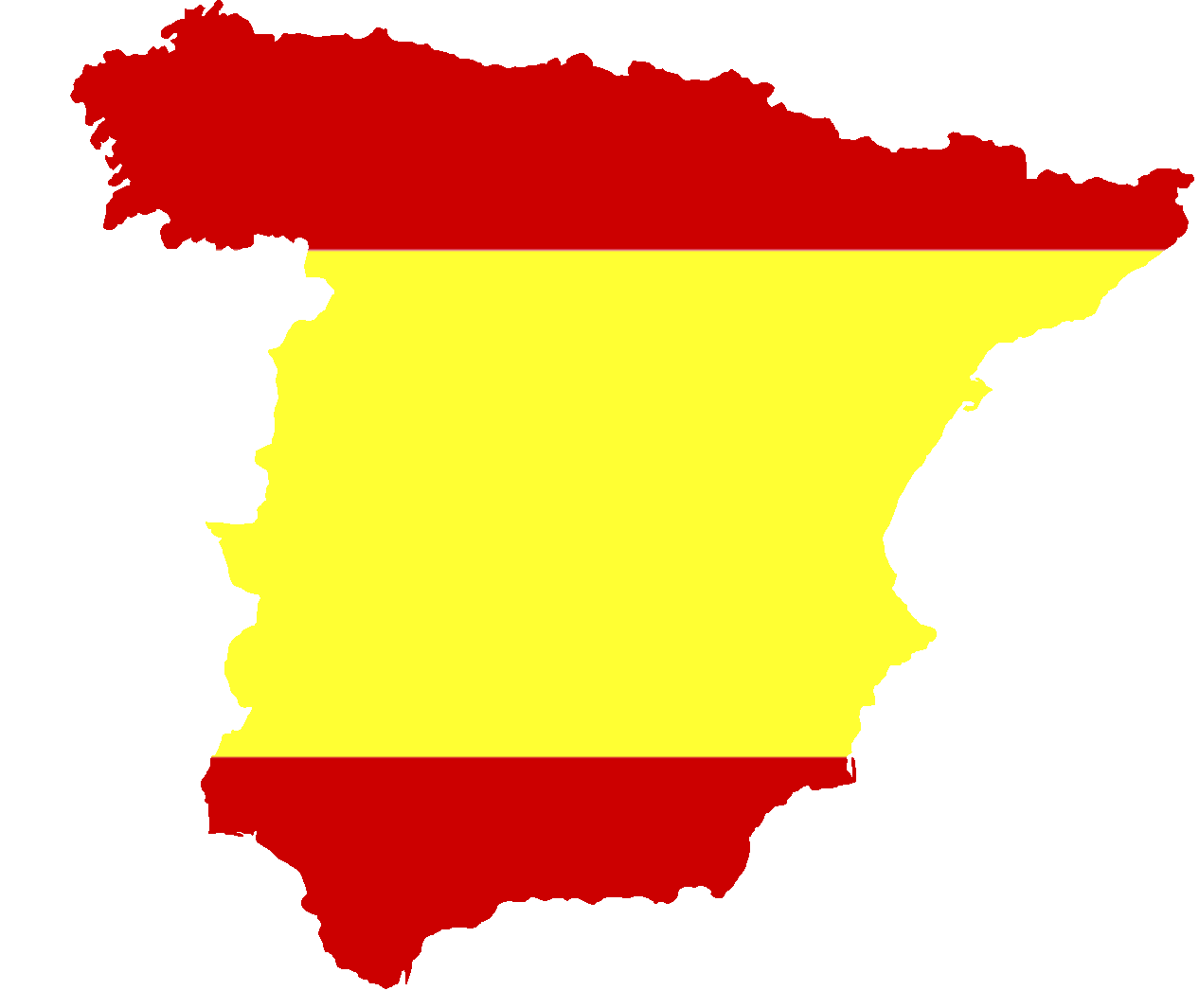 File:Silhouette Spain with Flag.png.