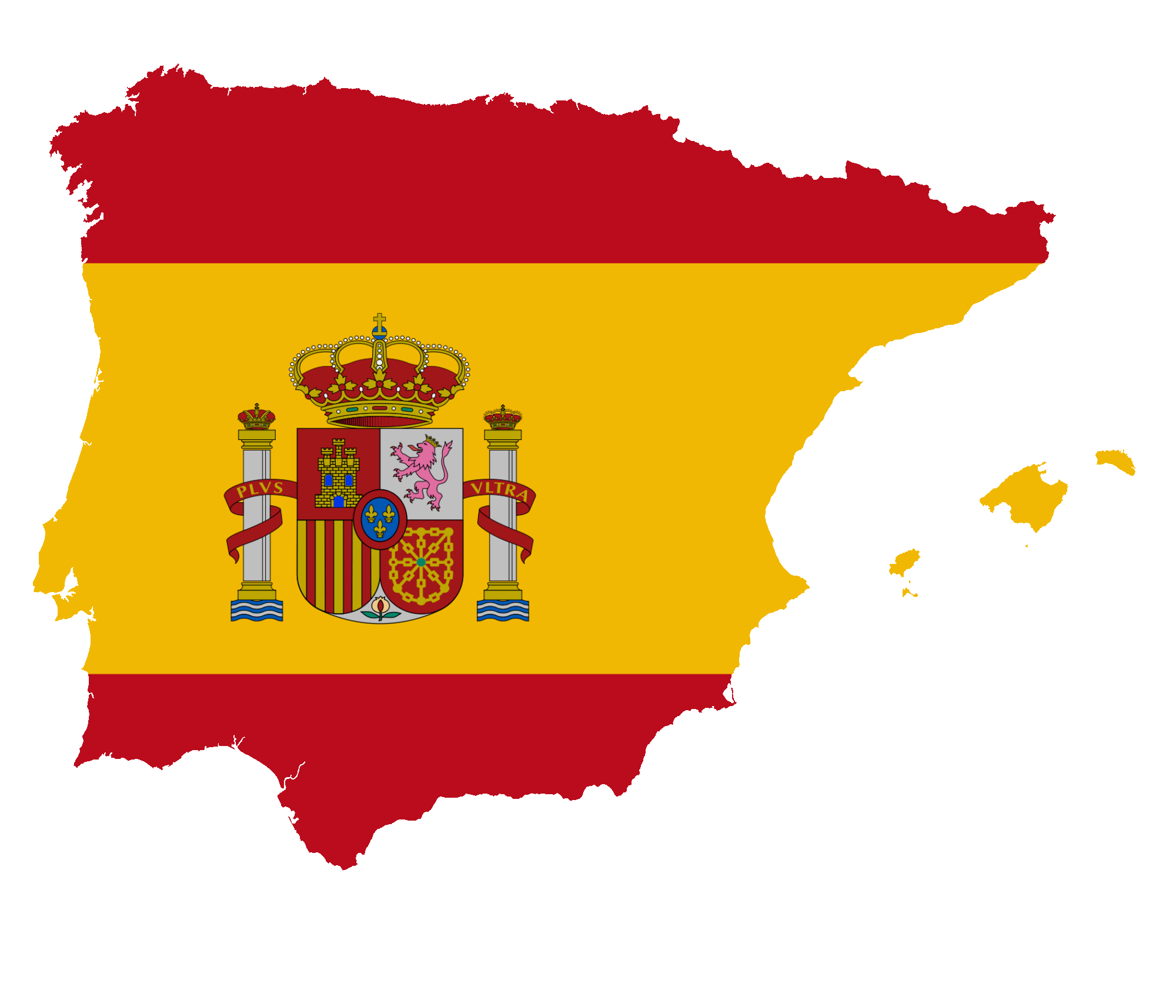 File:Flag map of Greater Spain.png.