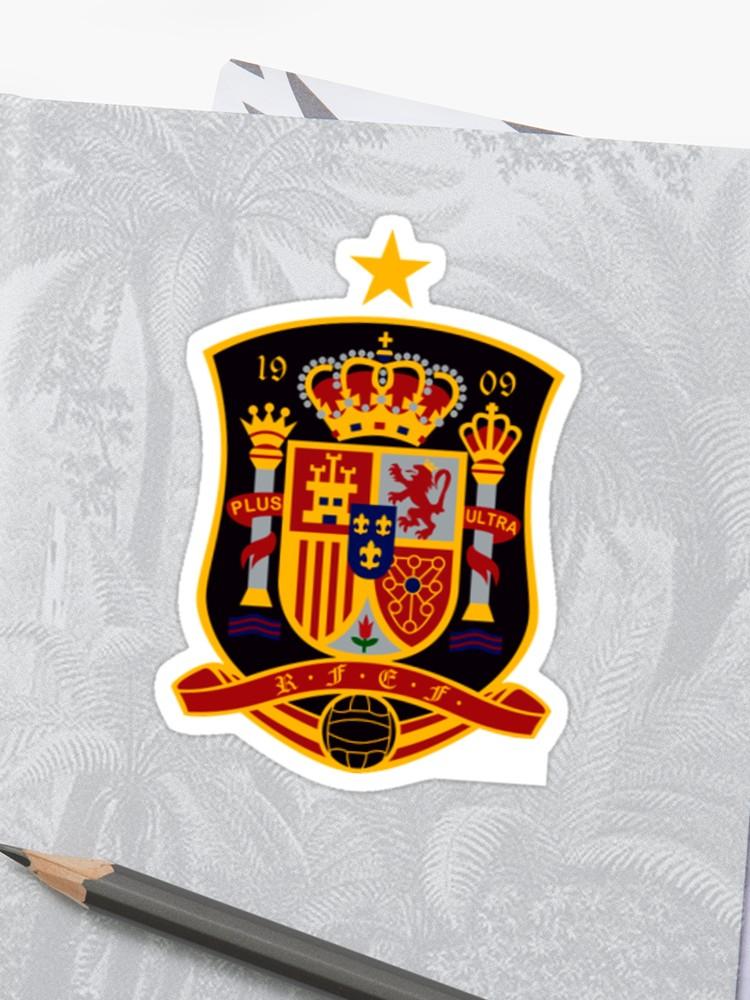 Spain Soccer Logo.