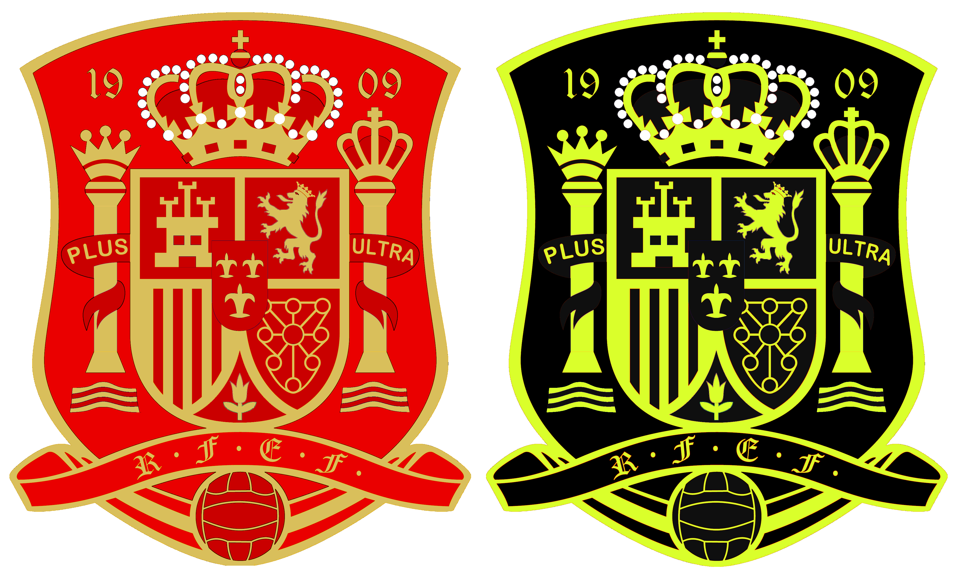 Spain World Cup Crests.