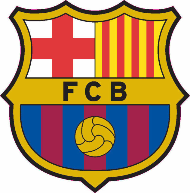 FC Barcelona Logo Football Soccer Car Bumper Window Wall Decal Vinyl Sticker.