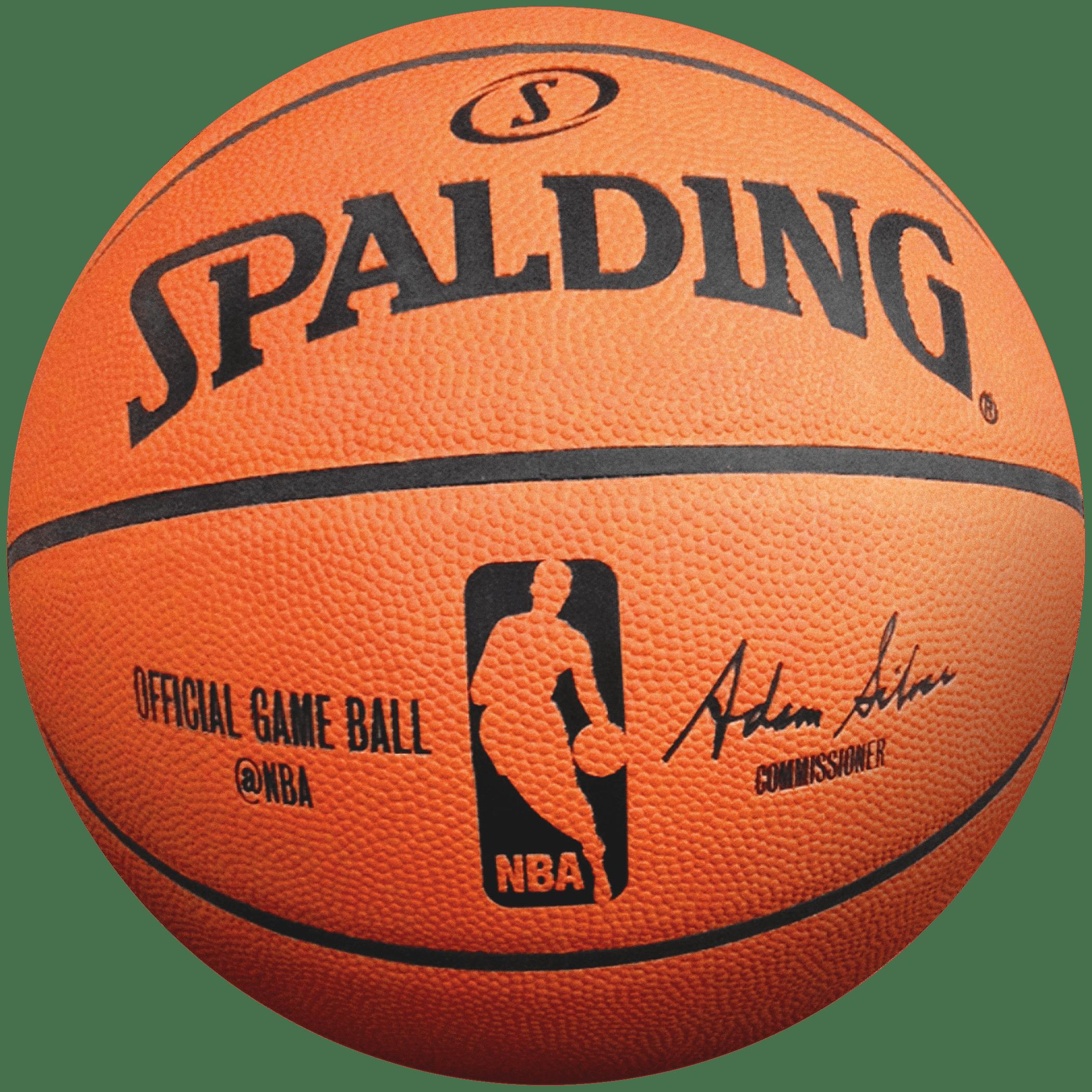 Spalding Basketball transparent PNG.