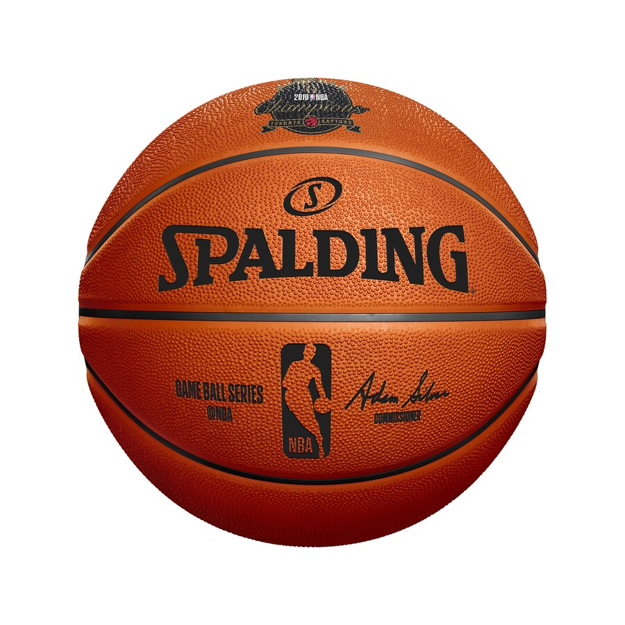 Toronto Raptors Fanatics Authentic 2019 NBA Finals Champions Spalding Logo  Basketball.