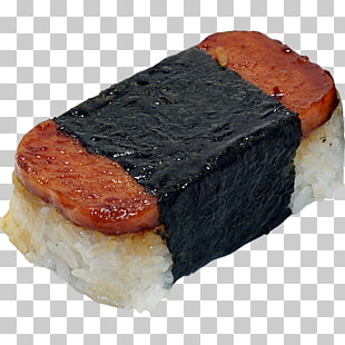 33 spam Musubi PNG cliparts for free download.