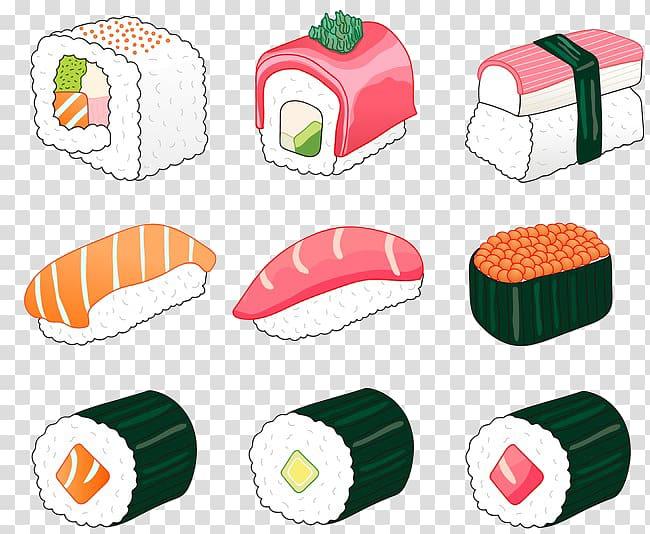 Sushi Japanese Cuisine Spam musubi Sashimi, Sushi.