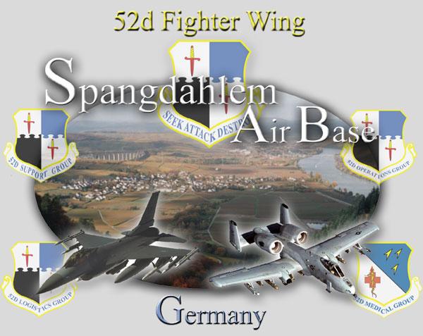 Spangdahlem AB @ USAFGermany.com.