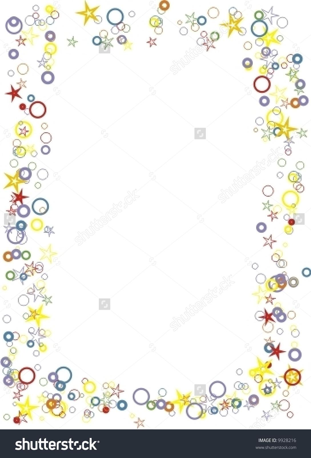 Frame Spangle Birthday Card Stock Vector 9928216.