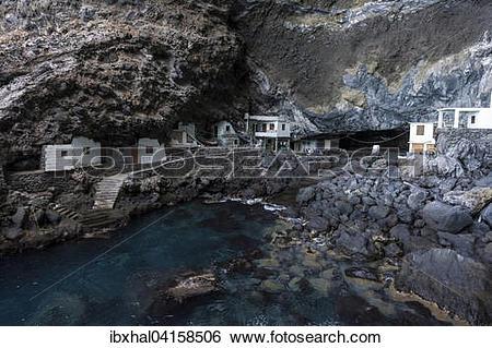 Stock Images of Prois de Candelaria, Cueva de Candelaria.