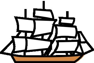 Sailing Ship Clip Art at Clker.com.