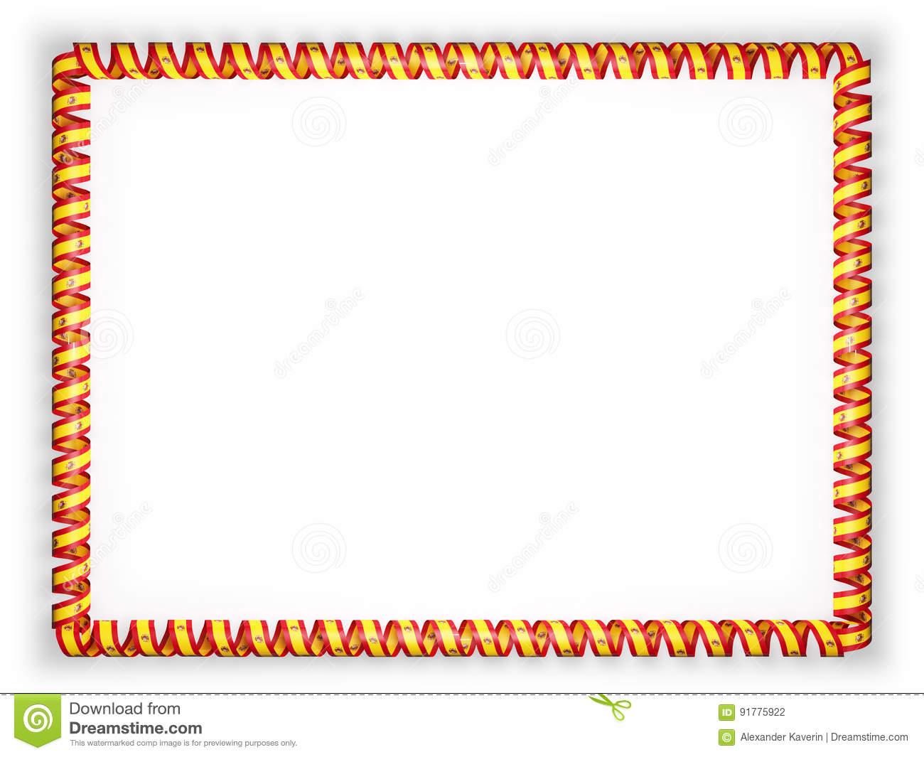 Spanish Border Clipart.