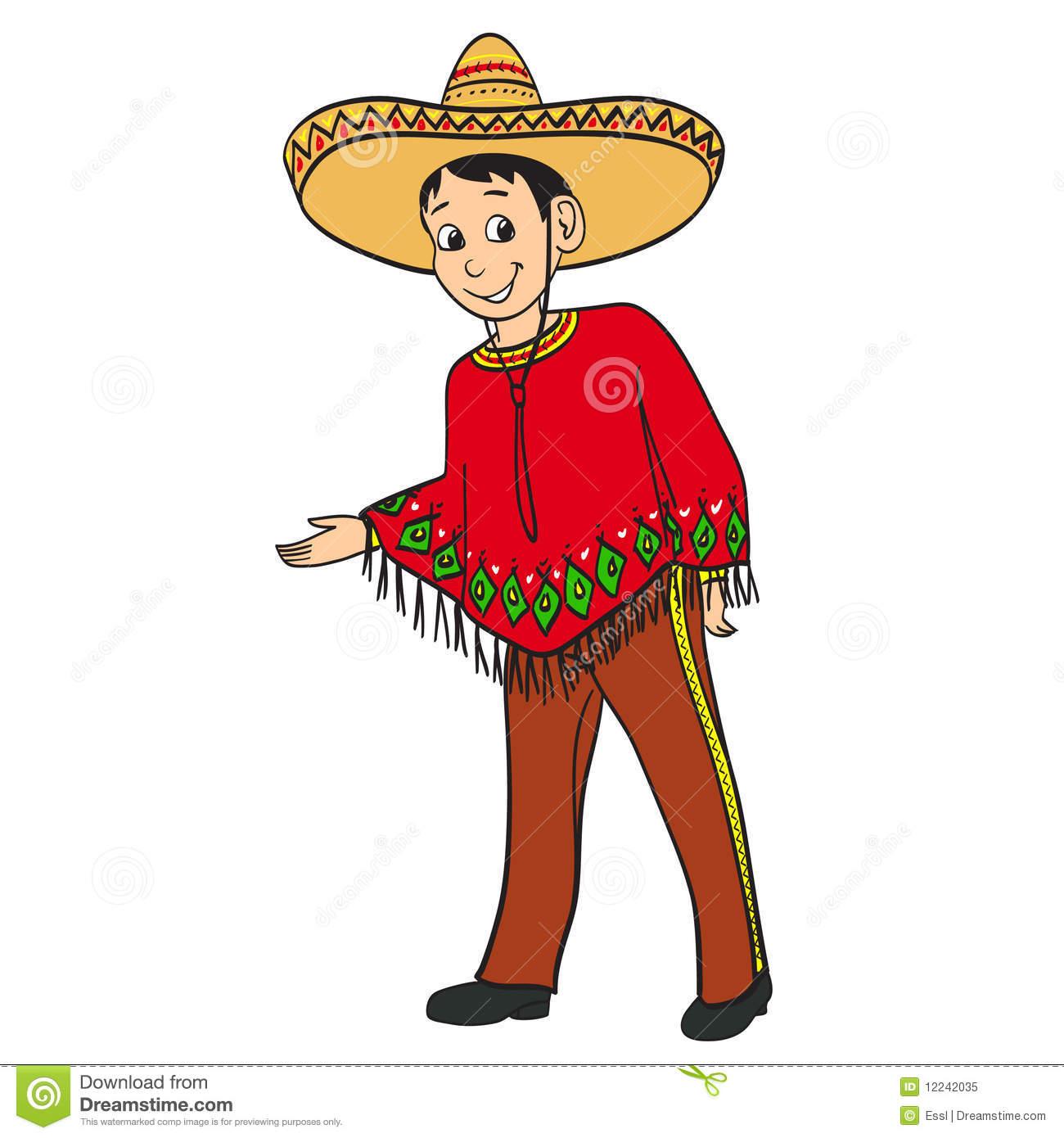 Hispanic Boy Clipart.