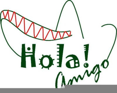 Spanish Class Clipart PNG.