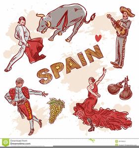 Spanish Culture Clipart.