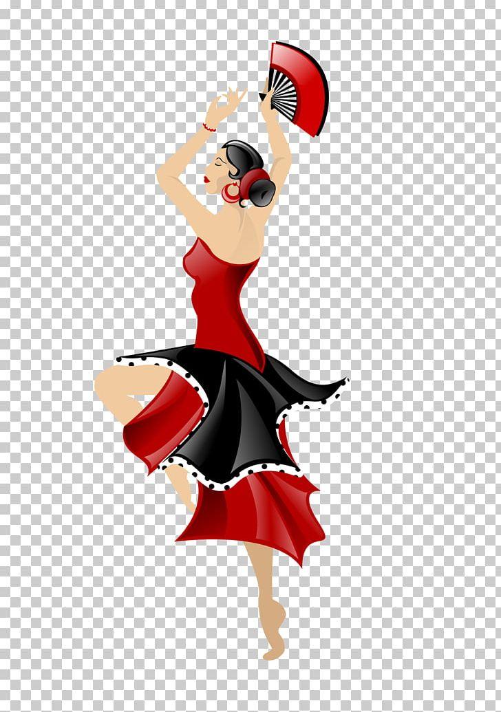 Flamenco Dance Drawing PNG, Clipart, Art, Cartoon, Clip Art.