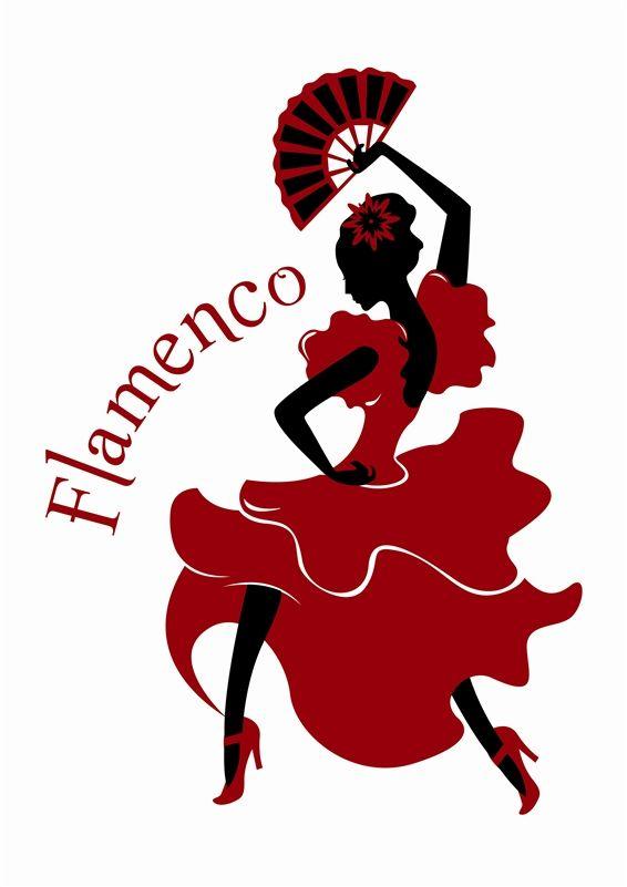 Flamenco Dancer Wall Decals.
