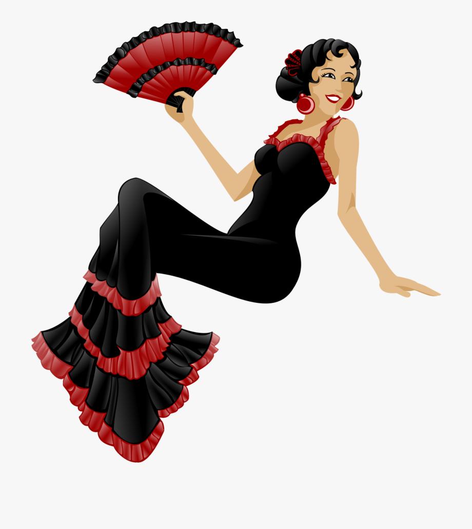 Flamenco Clipart.