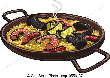 Spanish food Vector Clipart Illustrations. 765 Spanish food clip.