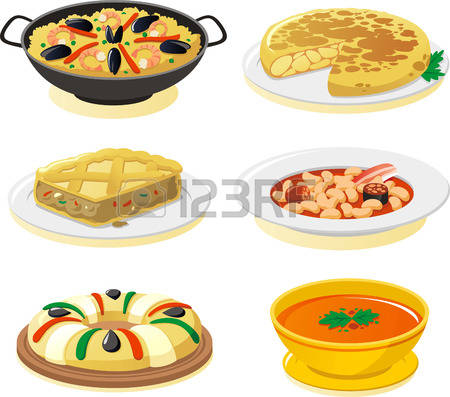 1,616 Spanish Food Stock Illustrations, Cliparts And Royalty Free.