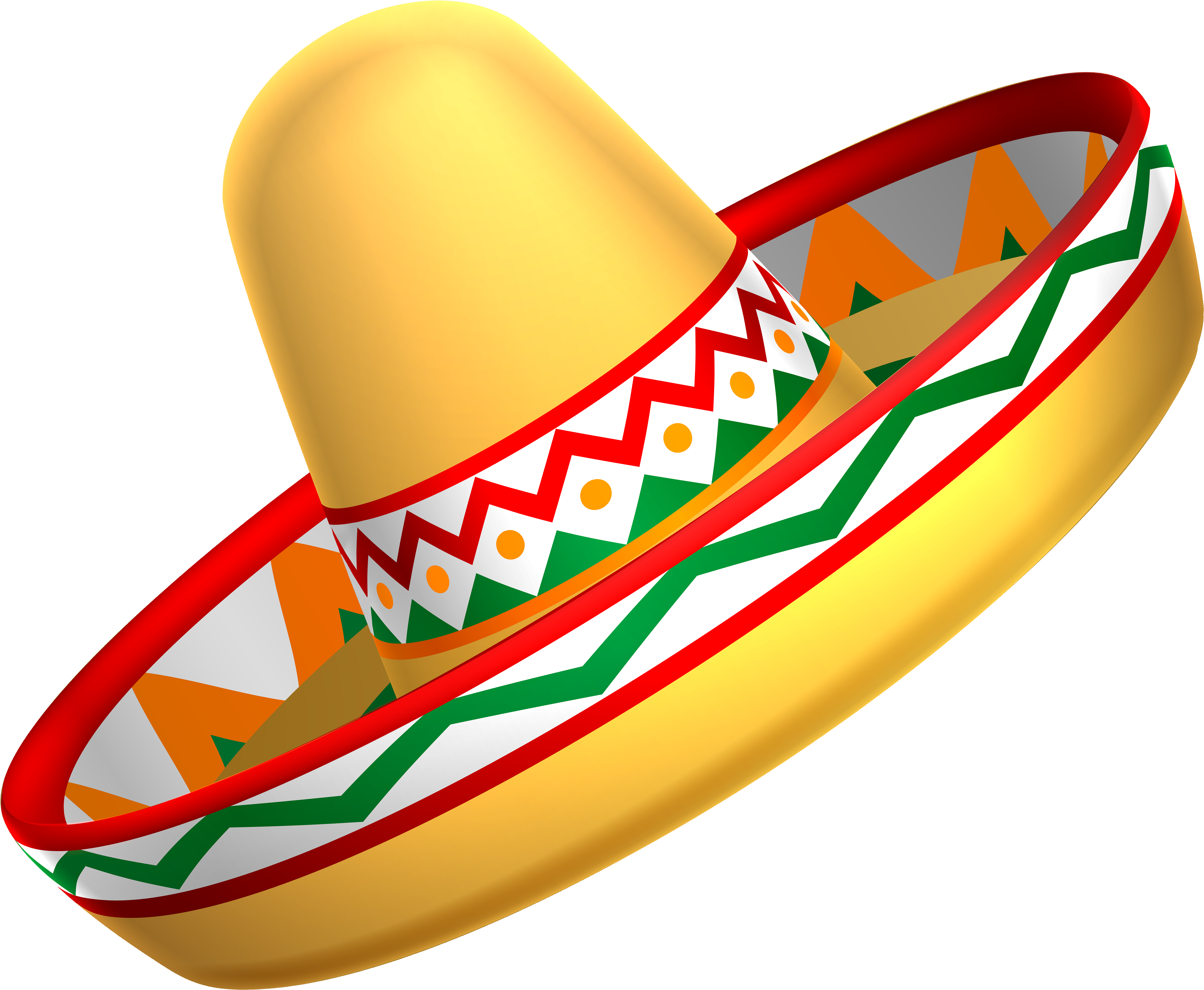 Free Png Mexican Sombrero Hat Png Images Transparent.