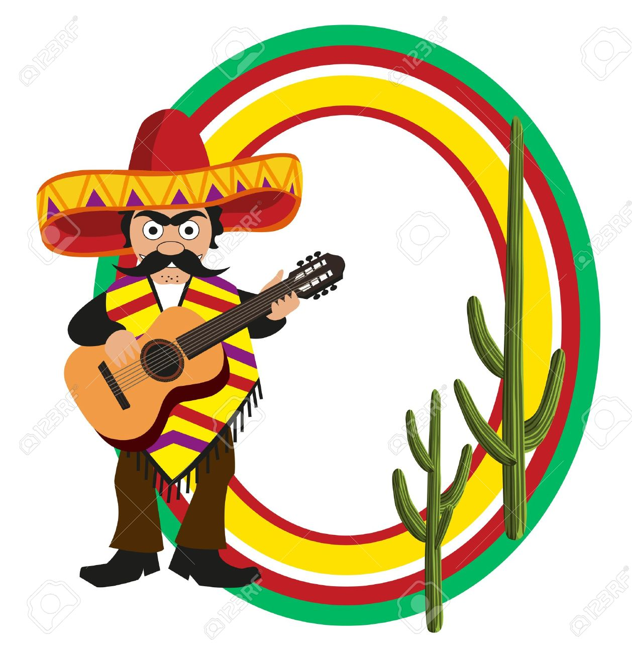 Spanish Man With Sombrero Clipart Clipground Pin Cartoon Pictures On Pinterest