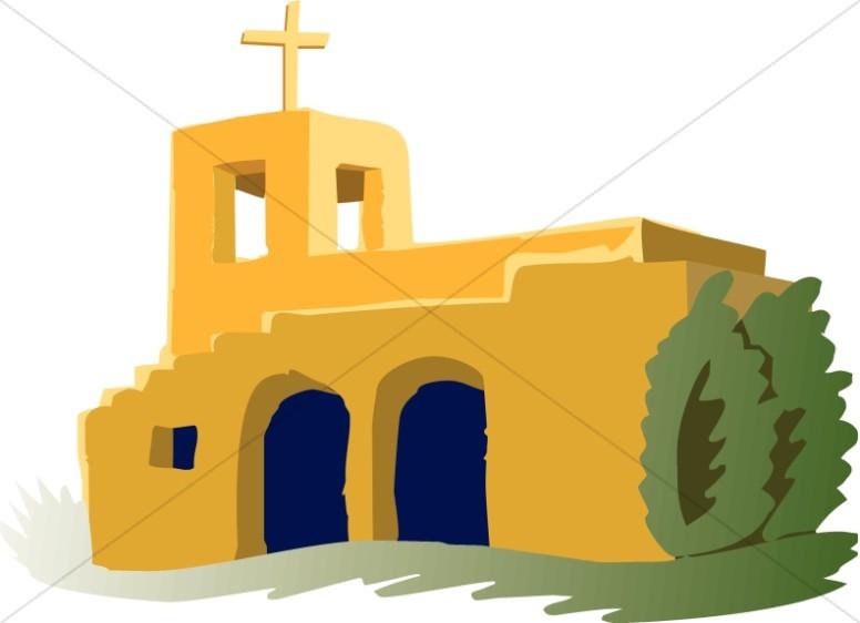 Adobe Mission Church.