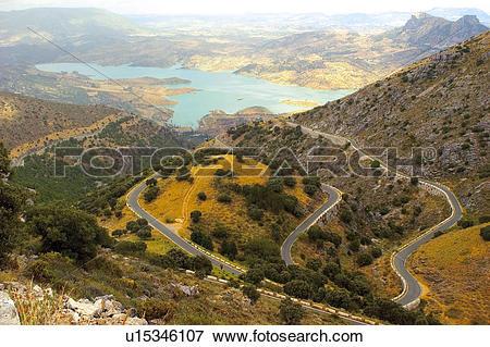 Picture of Road, Roads, Spanish, Spanish road, Spanish roads.