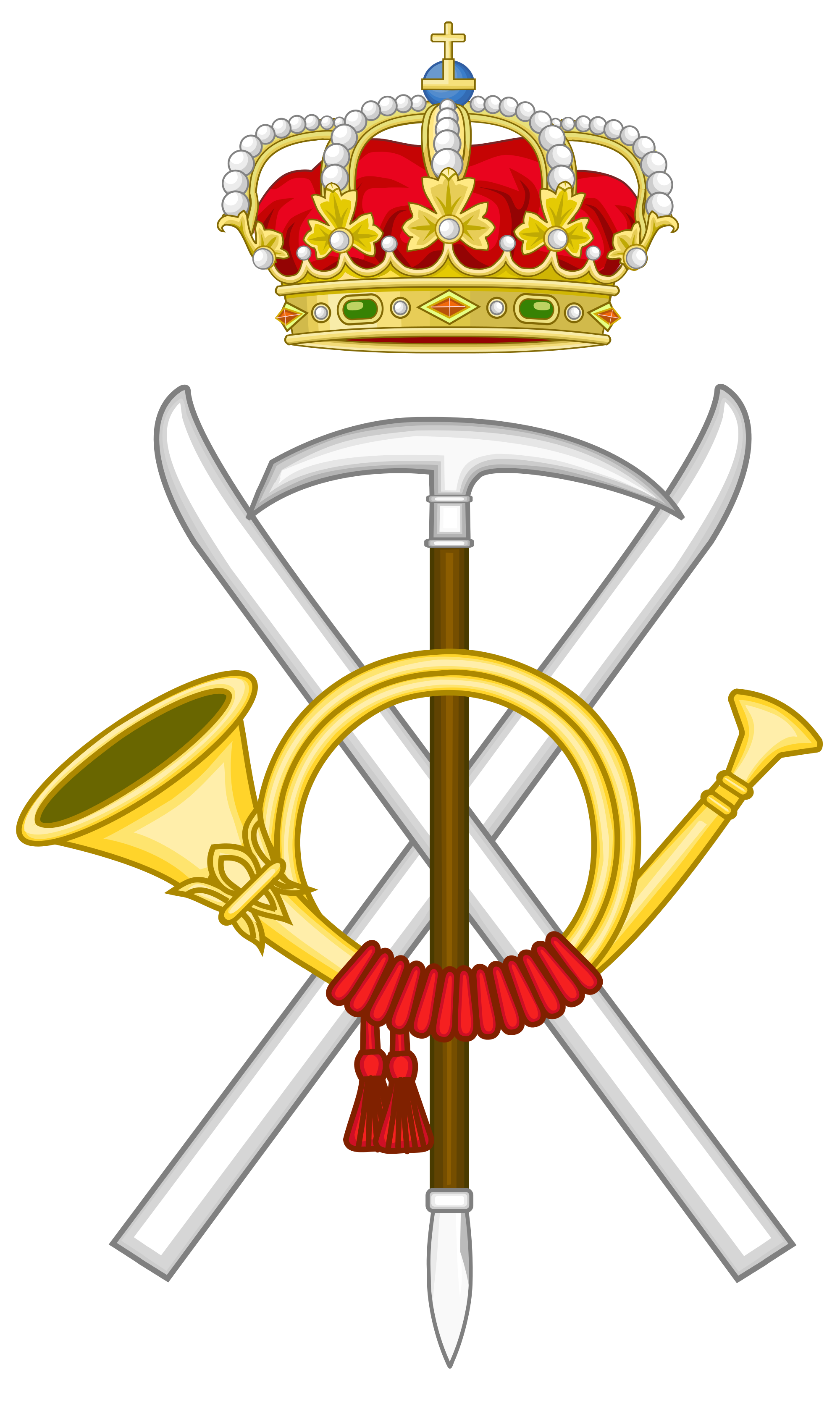 File:Emblem of the Spanish Army Mountain Forces.svg.