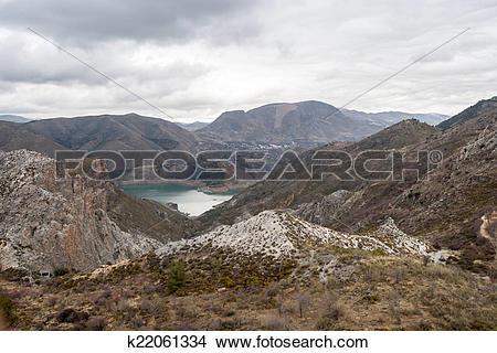 Stock Photo of Spanish landscape k22061334.
