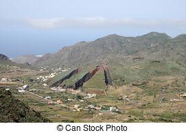 Stock Image of Mountain village, El Serrat, Spain.