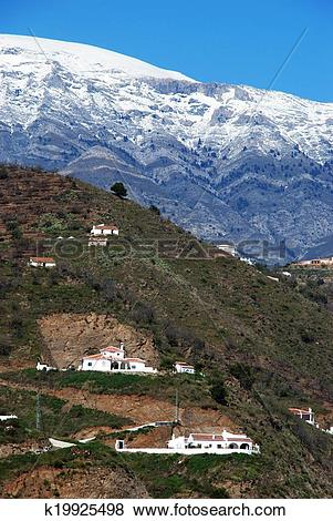 Pictures of Spanish countryside, Andalusia. k19925498.