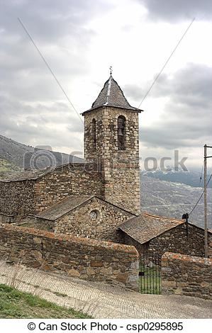 Stock Images of 17th century spanish mountain church csp0295895.