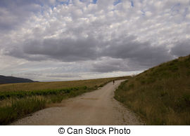 Picture of Goatherd on Spanish road, Spain..
