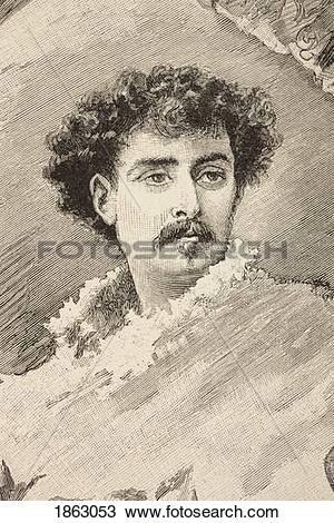 Stock Photo of Mariano Jos? Mar?a Bernardo Fortuny Y Marsal Born.