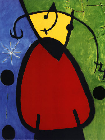 Joan Miró ~ Surrealist painter.