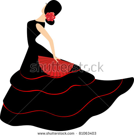 Flamenco Dancer Stock Images, Royalty.
