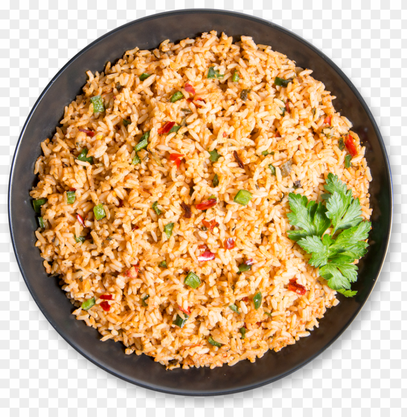 spanish rice PNG image with transparent background.