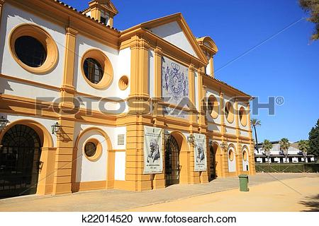 Stock Photography of The Spanish Riding School k22014520.