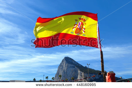 Spain Flag Stock Images, Royalty.