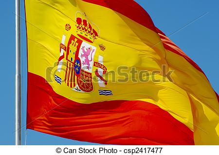 Picture of Spanish flag.